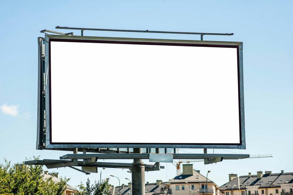 Werbeflächen anbieter